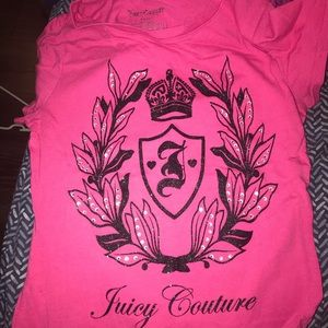 Juicey couture shirt bundle small